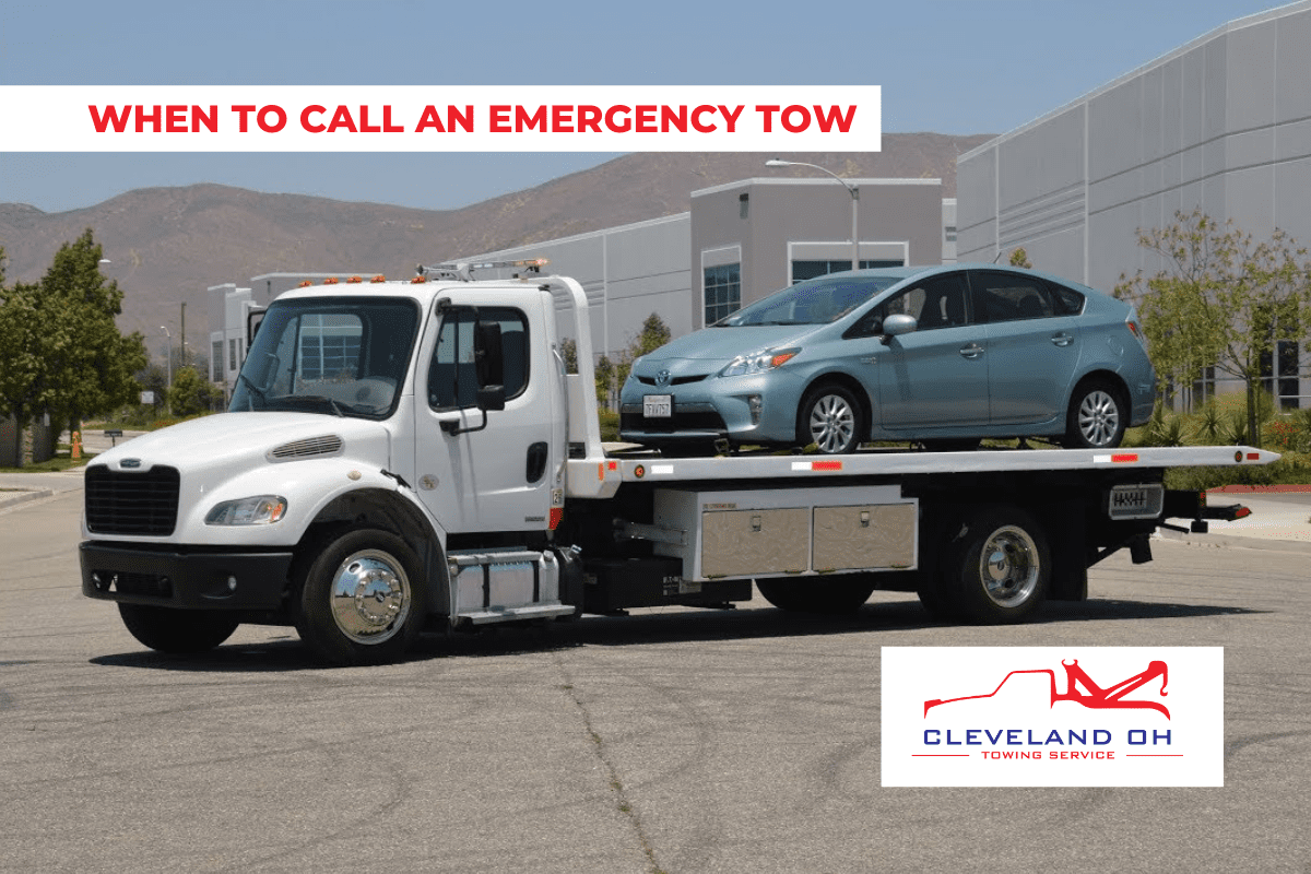 EMERGENCY TOWING TRUCK SERVICE